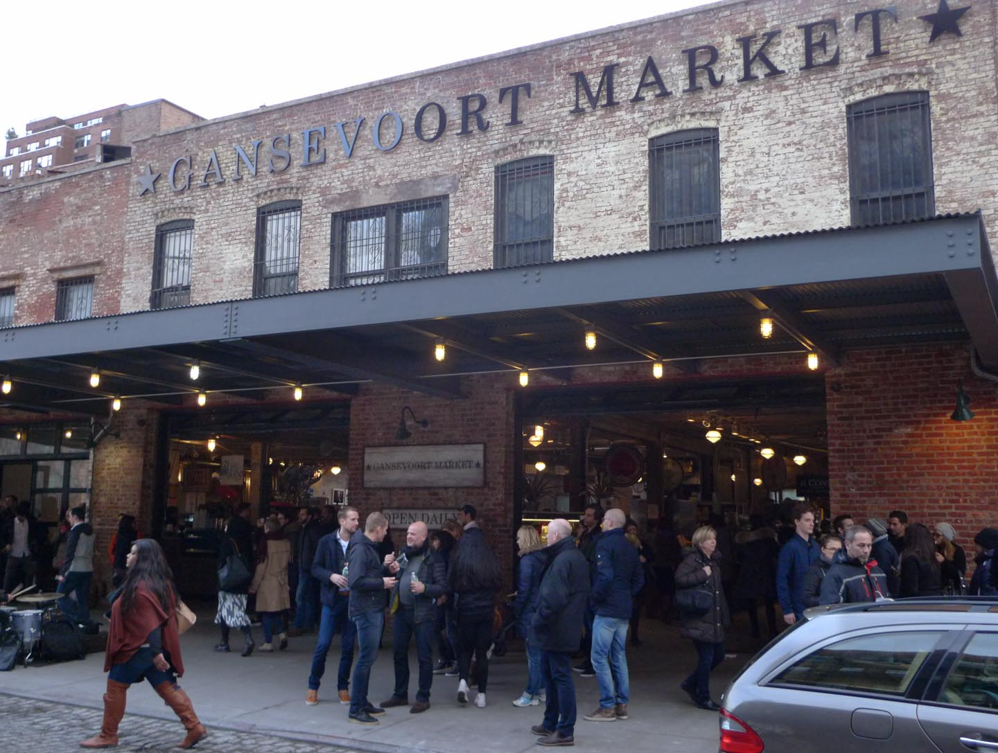 "Gansevoort Market Plan aurora and gottlieb creating ""intentional blight"" on gansevoort"